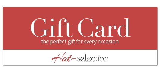 Vouchers available in the Hot-Selection Onlineshop