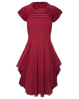 Kleid MIKADO RED | HIGH