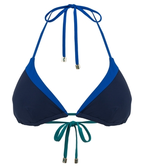 BIKINI-Top SAVANNAH SUNSET blue | HEIDI KLUM