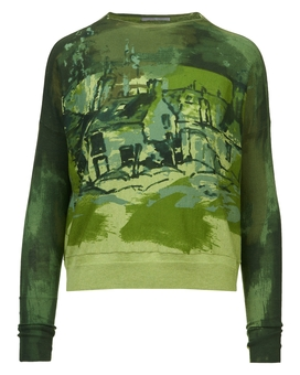 Pullover PAINTERLY | HIGH