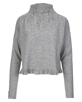 Pullover QUIBBLE grey | HIGH