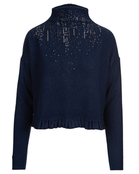 Pullover QUIBBLE blue | HIGH