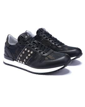 Sneaker LISBOA LADY Black Schwarz | 36