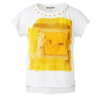 T-Shirt DREAMER gelb | HIGH