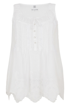 Top VOILE TOP WHITE | TRUE RELIGION