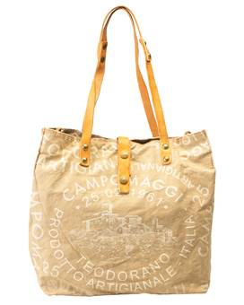 Tasche SHOPP.L.CANVAS white | CAMPOMAGGI