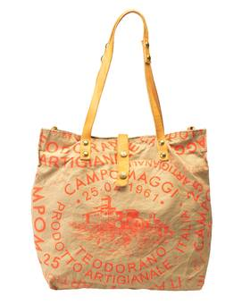 Tasche SHOPP.L.CANVAS corallo | CAMPOMAGGI