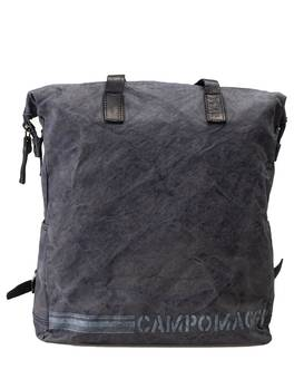 Rucksack ZAINO MED.CANVAS blue | CAMPOMAGGI