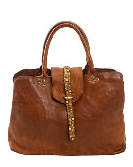 Bag SHOPPING MEDIA SENAPE | CAMPOMAGGI