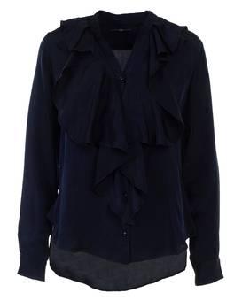 Bluse CULTURED Blau | XS