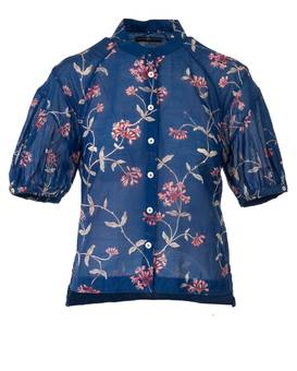Blouse INSIGHT blue | HIGH