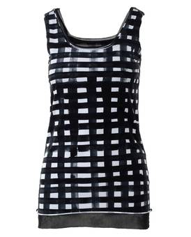 TANK TOP 330 08 08 b/w | RUNDHOLZ BLACK LABEL