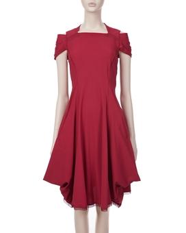 Kleid RHYTHM RED | HIGH