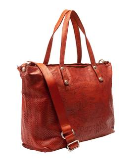 Tasche SHOPPING TEODORANO red | CAMPOMAGGI