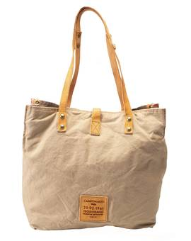 Tasche SHOPP.L.CANVAS corallo | CAMPOMAGGI