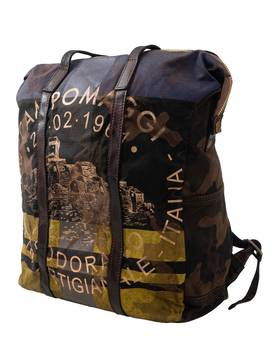 Backpack ZAINO MED CANVAS F2707 | CAMPOMAGGI