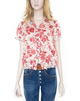 Bluse CHEERIO red | HIGH