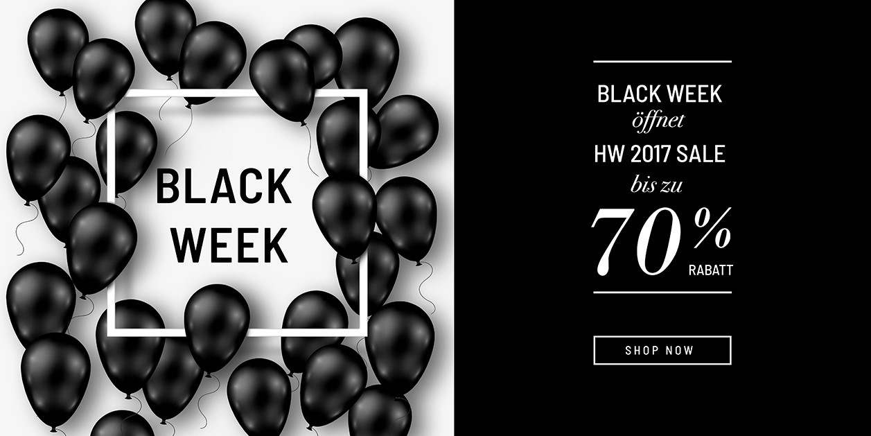BLACK WEEK - H/W17