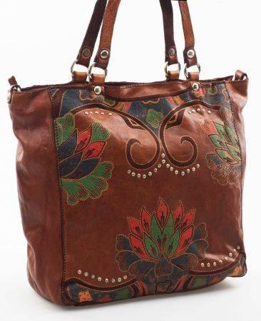 Bag SHOPPING VACC St. Lotus brown  408fd9b70f1f3