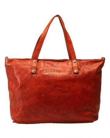 Tasche SHOPPING TEODORANO red