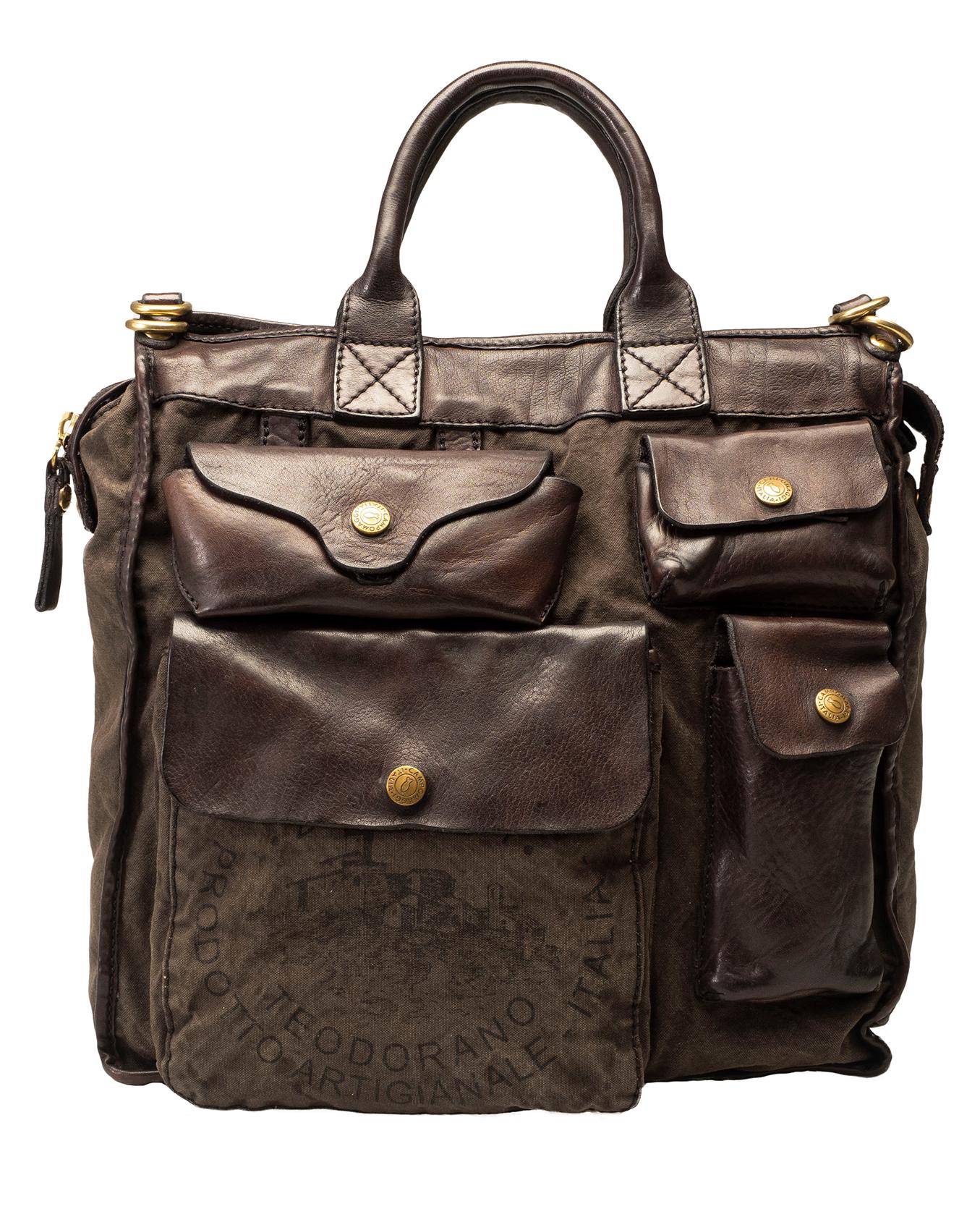 weltweit verkauft Professionel vollständig in den Spezifikationen Bag CARTELLA CANVAS F0502