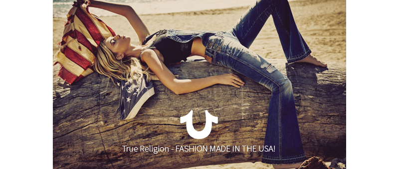 True Religion - Hot-Selection - SS 2016